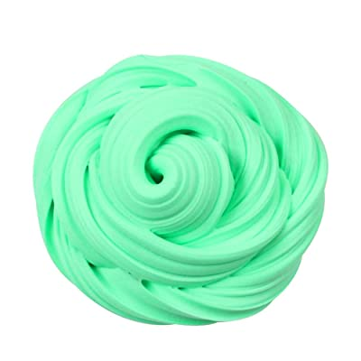 Starwak Amazing Fluffy Slime,Fluffy Floam Slime Putty Scented Stress Relief No Borax Kids Toy Sludge Toy (Green): Arts, Crafts & Sewing