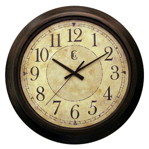 Geneva 14-Inch Plastic Decorative Wall Clock,