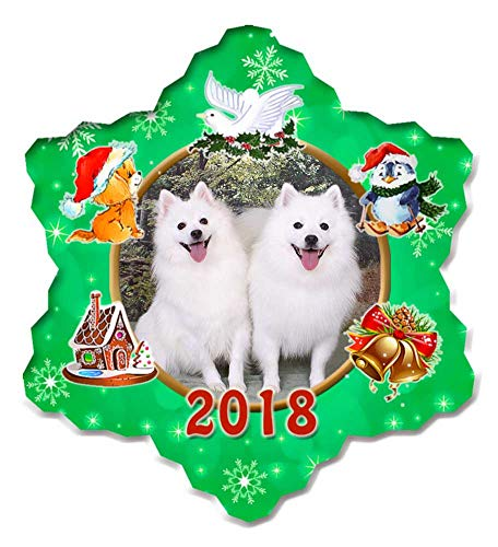 can Eskimo Porcelain Christmas Holiday Ornament - 2018 ()