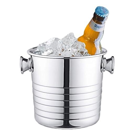Compra YZBT-ice bucket Hogar Cubitera, Acero Inoxidable ...