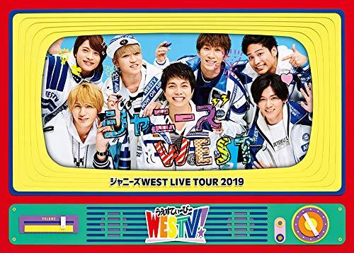 쟈니즈WEST LIVE TOUR 2019 WESTV! (Blu-ray첫 사양)