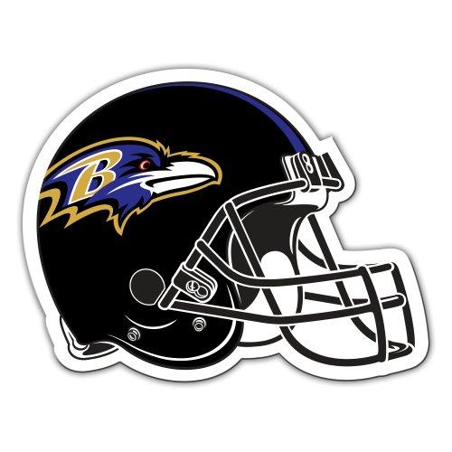(Fremont Die NFL Baltimore Ravens 12-Inch Vinyl Helmet)