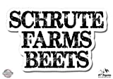 #8: Schrute Farms Beets The Office - Vinyl Sticker Waterproof Decal