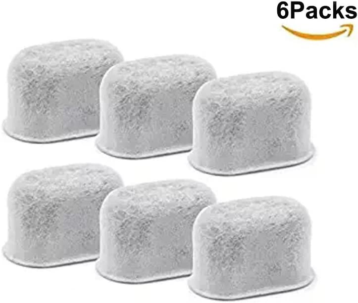 6 Replacement Coffee Filter Charcoal Water Filters für Cuisinart Coffee Machines