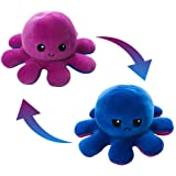 AioTio Double-sided Octopus Flip Plushie|Easy to show your mood to the parents/kids|As an interesting gift to kids…