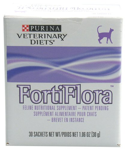 Purina FortiFlora Feline Nutritional Supplement, box of 30 x 1 gram packages, My Pet Supplies