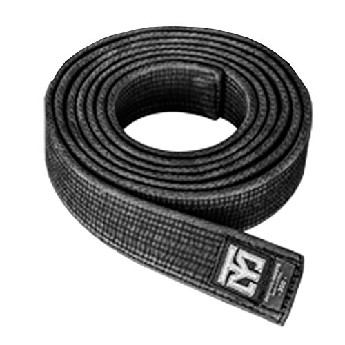 Mooto Taekwondo Mooin Special Washed Black Belt Double Wrap for Master Martial Arts Hapkido Kendo Karate Judo (Length: 310cm)