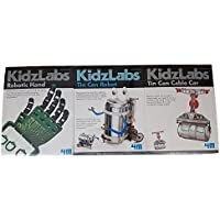 4M Robotic Hand, Tin Can Robot, and Tin Can Cable Car Bundle