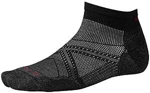 Smartwool Men's PhD Run Light Elite Low Cut Socks (Black) Medium