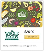 Whole Foods Market Gift Cards - E-mail Delivery