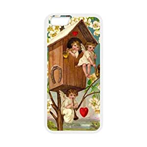 "D-PAFD Cover Shell Phone Case Cupid Cherub For iPhone 6 Plus (5.5"")"