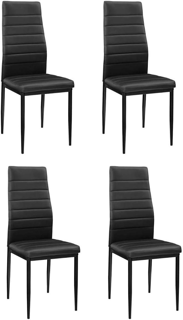 K/üche /& Wohnzimmer perfekt geeignet f/ür Esszimmer 4X St/ühle Essgruppe mit 4 St/ühlen /& Esstisch als Set oder einzeln