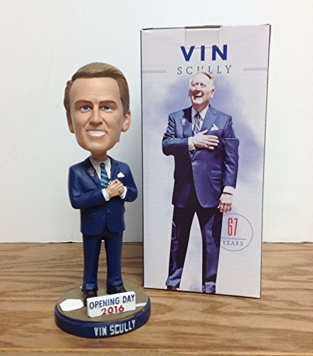 Vin Scully 2016 Los Angeles Dodgers STADIUM PROMO Bobblehead SGA ()
