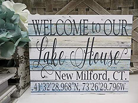 Moving Away Gift New Home Gift Housewarming Gift Personalized No Place Like Home Sign Includes the GPS Coordinates of any Address