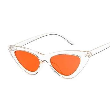 YSFU Gafas de sol Cat Eye Lady Gafas De Sol Mirror Point ...