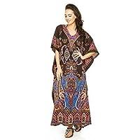 Looking Glam Neuf Femmes Surdimensionné Maxi Kimono Tunique Caftan Robe Caftan