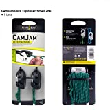 Nite Ize NCJS-M1-2R3 CamJam Cord Tightener with  Rope , Small, 2-Pack