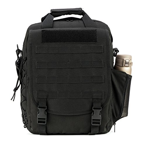 Price comparison product image PANS Military Laptop,  tactical backpack Shoulder Bags Handbag and Molle System for Travel Work and Life (Black)