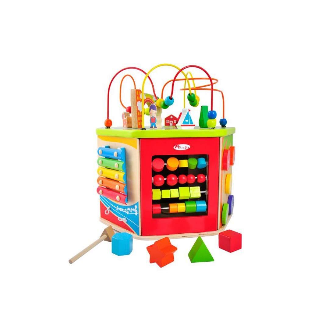 人気ブラドン GLJJQMY 木製の多機能ビーズビーズのおもちゃ子供赤ちゃん幼児パズル幼児教育デスクトップ玩具 子供の教育玩具 B07P5LJLH5 GLJJQMY B07P5LJLH5, 野球用品 グランドスラム:2b9fb874 --- svecha37.ru