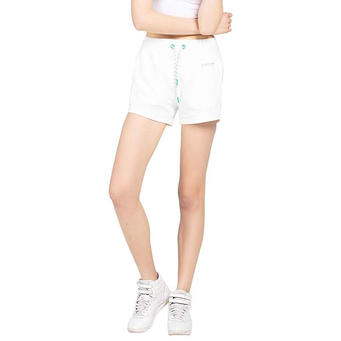 Extreme Pop Pantalones Cortos de Mujer Deportivos para la ...