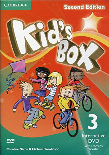 NEW Kid's Box Level 3 Interactive DVD (NTSC) with Teacher's Booklet