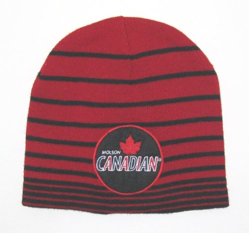 molson-canadian-apparel-red-black-stripe-knit-beanie-hat