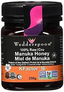 Wedderspoon 100% Raw Manuka Honey - KFactor 16-8.8 oz
