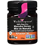 Wedderspoon 100% Raw Manuka Honey KFactor 16-250g