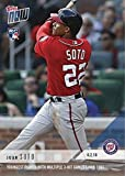#6: 2018 Topps Now Baseball #279 Juan Soto Rookie Card - Only 1,245 made!