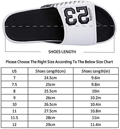 51IFOUwh9 L. AC Men's Athletic Adjustable Slide Sandals with Velcro Lightweight Comfort Slip On Sport Slippers    Product Description