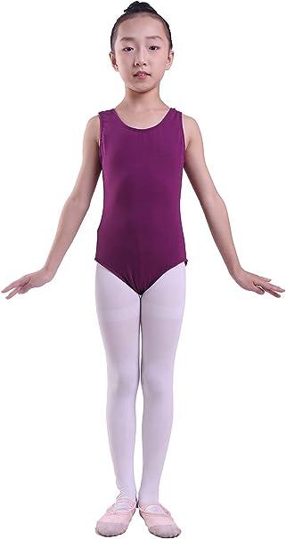 Size for 4T Girls Lovelyprincess Girls Classic Dance Short Sleeve Leotard,Black