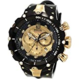 Invicta Men's 14416 Jason Taylor Analog Display Swiss Quartz Black Watch