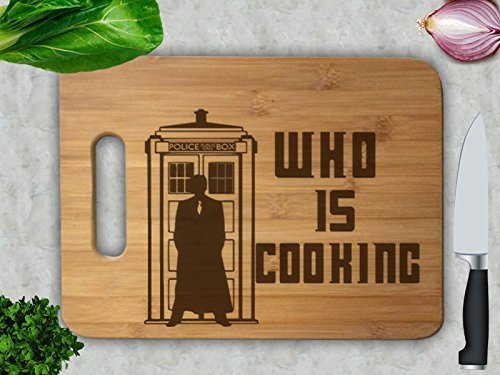 Doctor Who Is Cooking Cutting Board