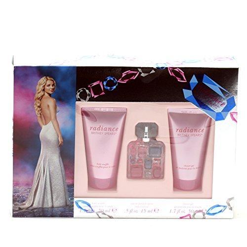 - Britney Spears Radiance .5 Oz Ep Sp/1.7 Oz Sg /1.7 Oz Body Souffle Set