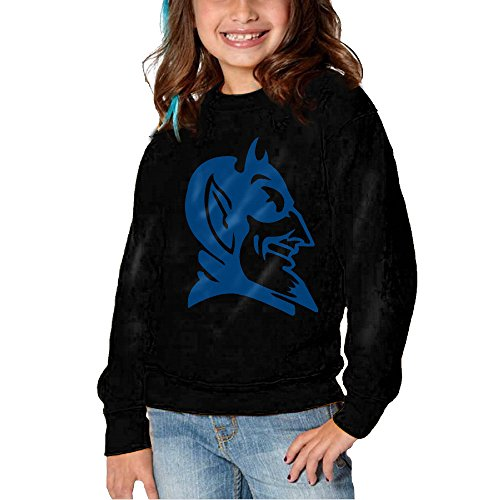 KLIU Kids Duke University Boy's & Girl's Crewneck Hoodies Black Size 2 Toddler