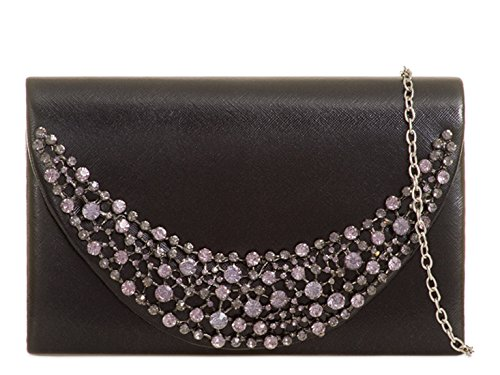 LeahWard Women's Bag Out Clutch Wedding For Clutch Bag Night Prom Evening Black Party Wedding ZZxTSrwdq
