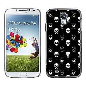 iKiki-Tech Estuche rígido para Samsung Galaxy S4 - White Skull
