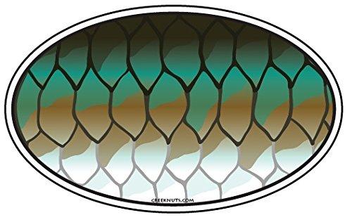 Mountain Creek Anglers Tarpon Skin Sticker Decal (Tarpon Decal)