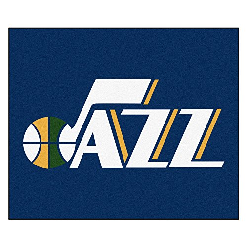 FANMATS 19480 NBA - Utah Jazz Tailgater Rug , Team Color, 59.5''x71'' by Fanmats