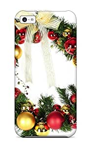 7605942K89151029 Hot Fashion Design Case Cover For Iphone 5c Protective Case (holiday Christmas)