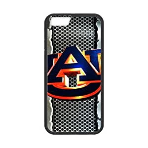Fashion Custom Made Case/Cover/Skin For Iphone 6 4.7 Inch - Black - Rubber Case With NCAA Auburn Tigers Auburn University Athletic Pattern (Laser Technology)