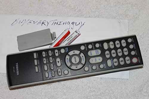 (Toshiba DC-LB1 REMOTE CONTROL For TV DVD Combo 14DLV75, 15DLV16, 15DLV76, MD13M1e - tested - With Batteries- Sold By Buyeverythingguy)
