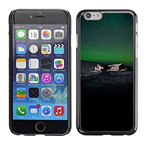Planetar® ( The Lonely House On The Hills ) Apple (5.5 inches!!!) iPhone 6+ Plus / 6S+ Plus Fundas Cover Cubre Hard Case Cover