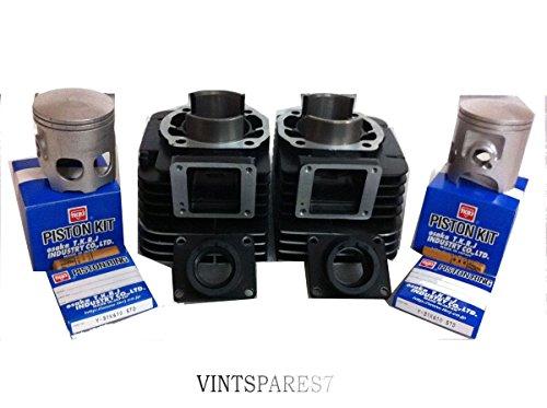 RS Vintage Parts EBY0088 Yamaha Rd350 Cylinder Block Piston Kit - Tkr Japan  - Rd 350 Vintage Bike