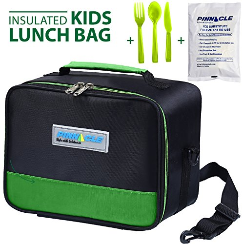 INSULATED LUNCH BOX - PINNACLE Insulated Lunch Bag For Kids,