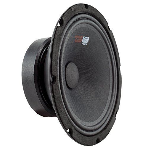 DS18 PRO-GM8SE 8-inch Sealed Back Midrange Loud Speaker 8-Ohms - 480 Watts Max, 140 Watts Rms - 1 Speaker by DS18