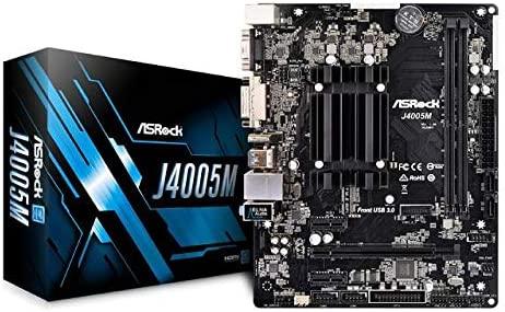 Asrock MB j4005/m Intel j4005/CPU M-ATX DVI//HDMI DDR4/Retail