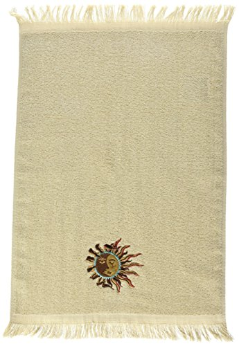 Avanti Southwest Sun Fingertip Towel, Linen