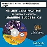 70-485 Advanced Windows Store App Development using C# Online Certification Learning Success Kit