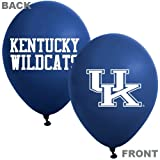 Collegiate Latex Balloons Kentucky Package of 10